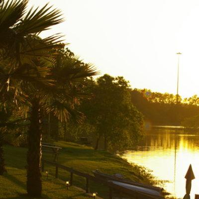 Emerald Lake in Porter, Texas