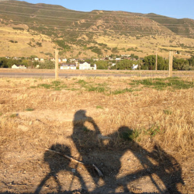 Did lots of riding on the new bike paths along the Wasatch Front, including the Legacy Parkway Trail