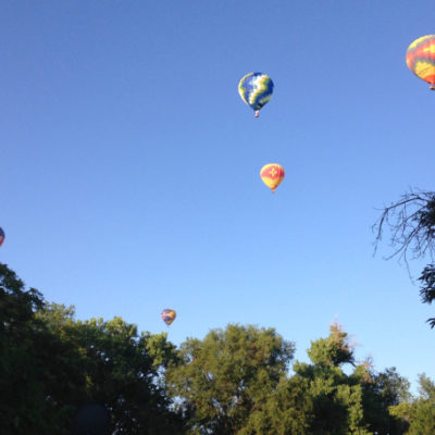 Balloons over Albuquerque on July 4th