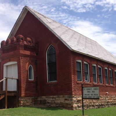 Church in Bristow, Oklahoma