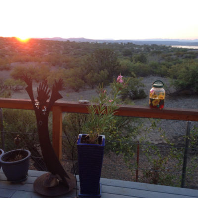 View from Mark and Lori's Elephant Butte home