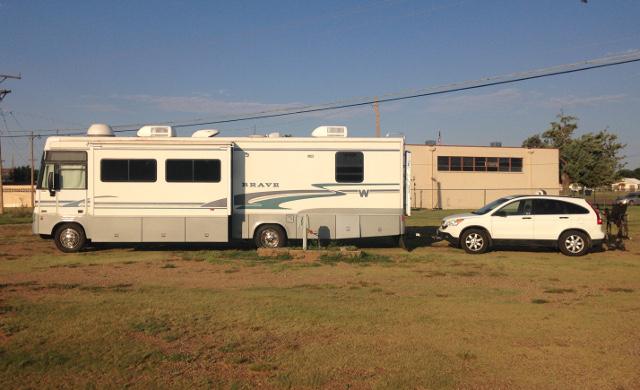 Tucumcari, NM Elks Lodge RV site