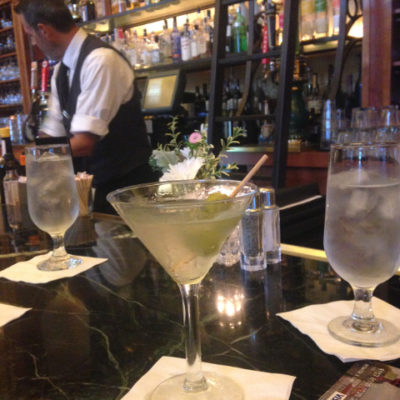 Union Station in Kansas City had a great martini