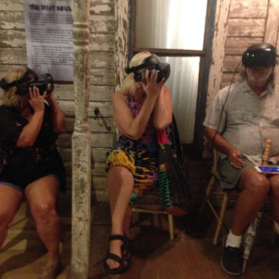 Dust bowl virtual reality in the Guthrie Center